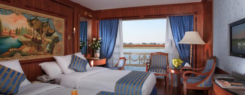 Sonesta St. George 5 Day Luxury Nile Cruise