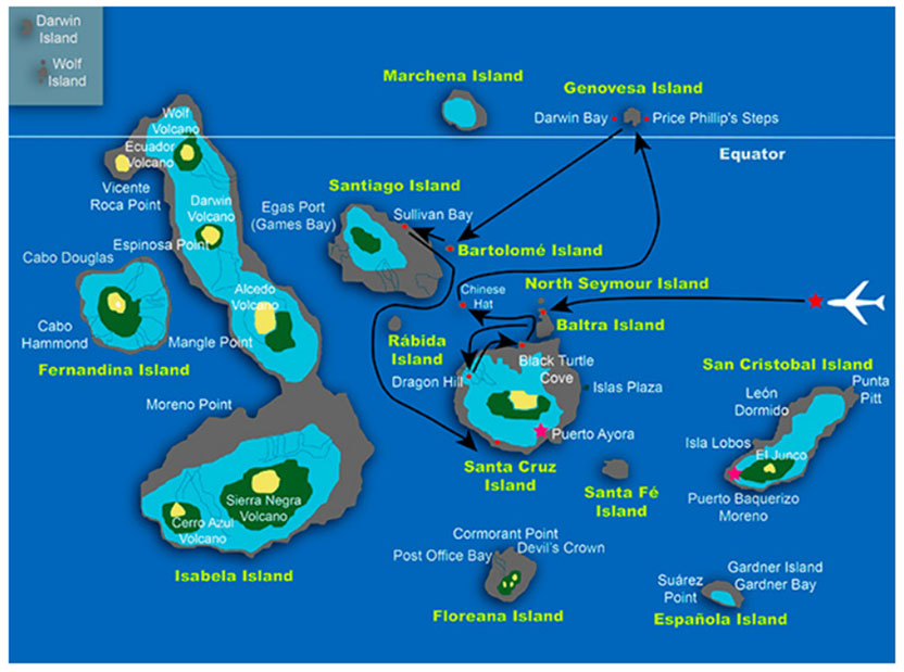 Galapagos 5 Day Cruise