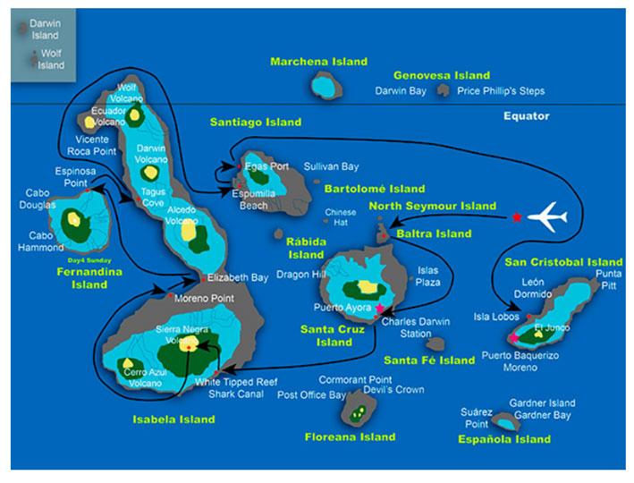 Galapagos 6 Day Luxury Cruise