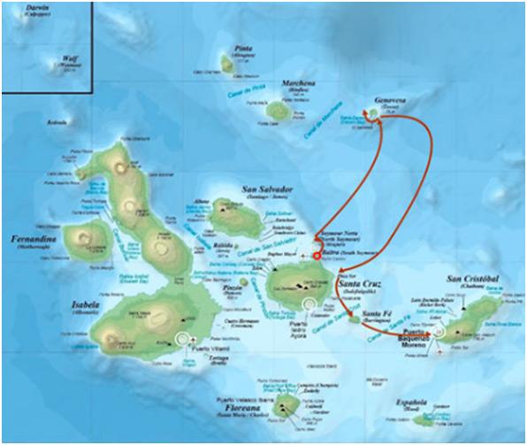 Galapagos 4 Day Cruise