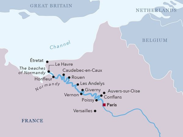 Paris to the Beaches of Normandy