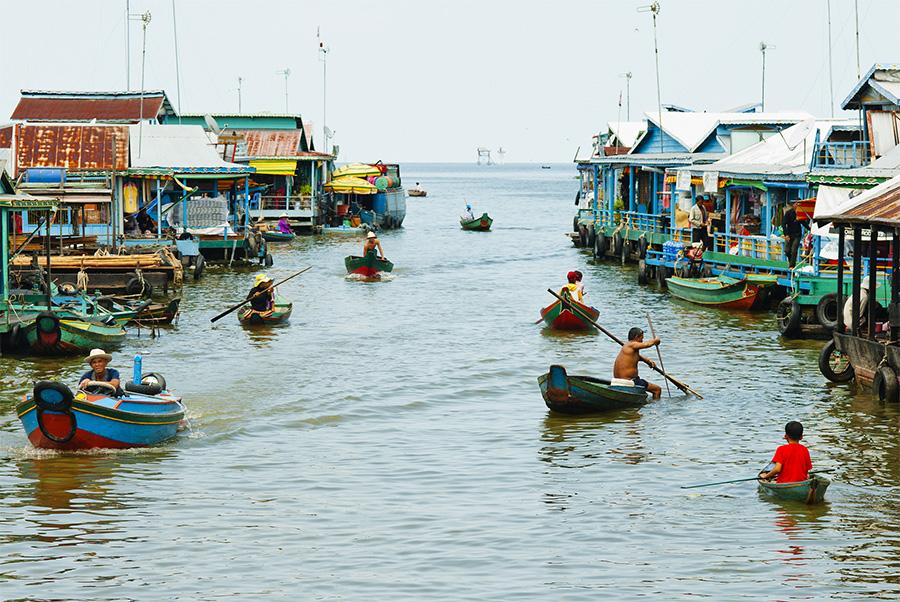CAMBODIA - FLOATING VILLAGE TONLE SAP I