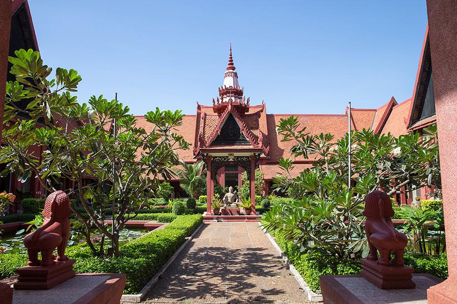 CAMBODIA - NATIONAL MUSEUM 002