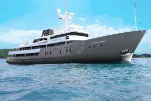 Luxury Cruise in Indonesia