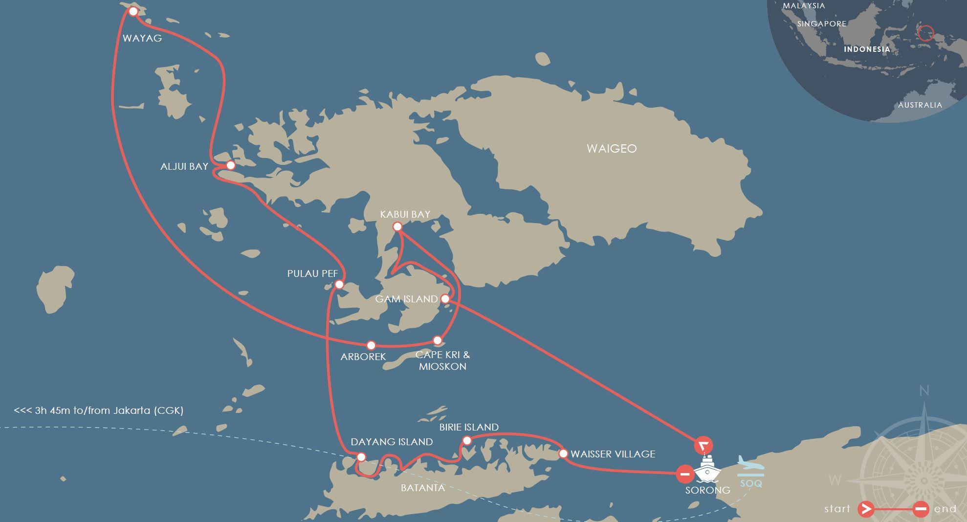 Raja Ampat Islands - Indonesian Cruise - 7 Nights
