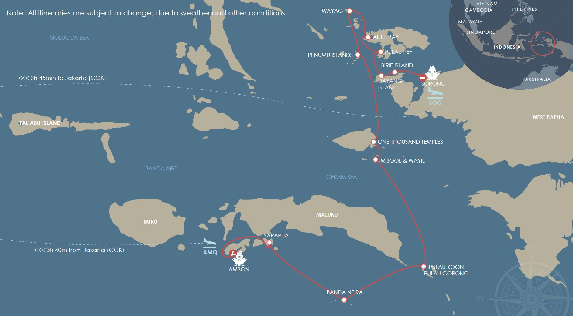 Boat Trips Indonesia - 12 Nights
