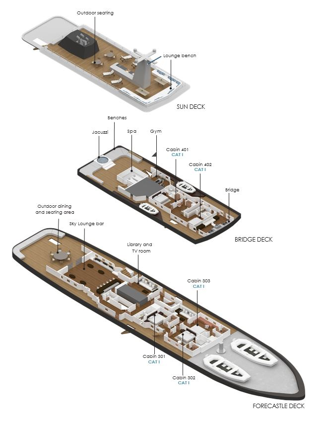 Deck Plan Forecastle