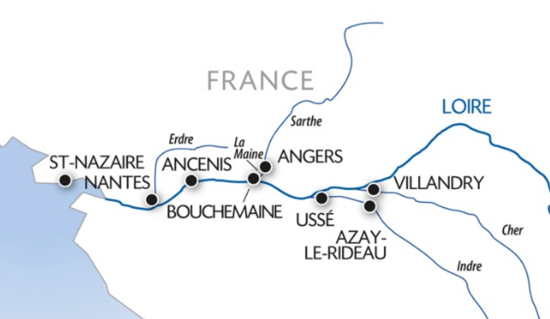 Loire 6 Day Cruise