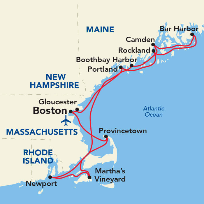Grand New England Cruise