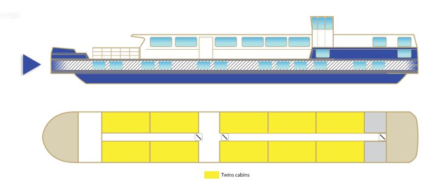 MS Raymonde Main Deck