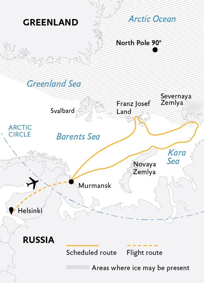 Russian Arctic Circle