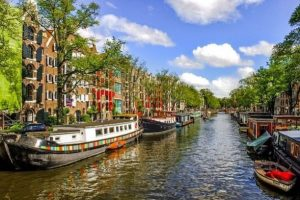 Small Ship Cruises Canals