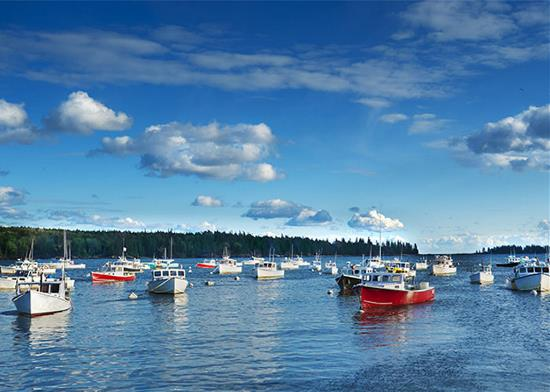 Maine Coast Cruise - Bar Harbor, Camden and Boothbay