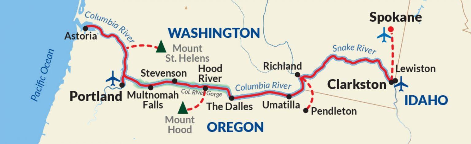 Clarkston to Portland Cruise - Northwest Pioneers Cruise