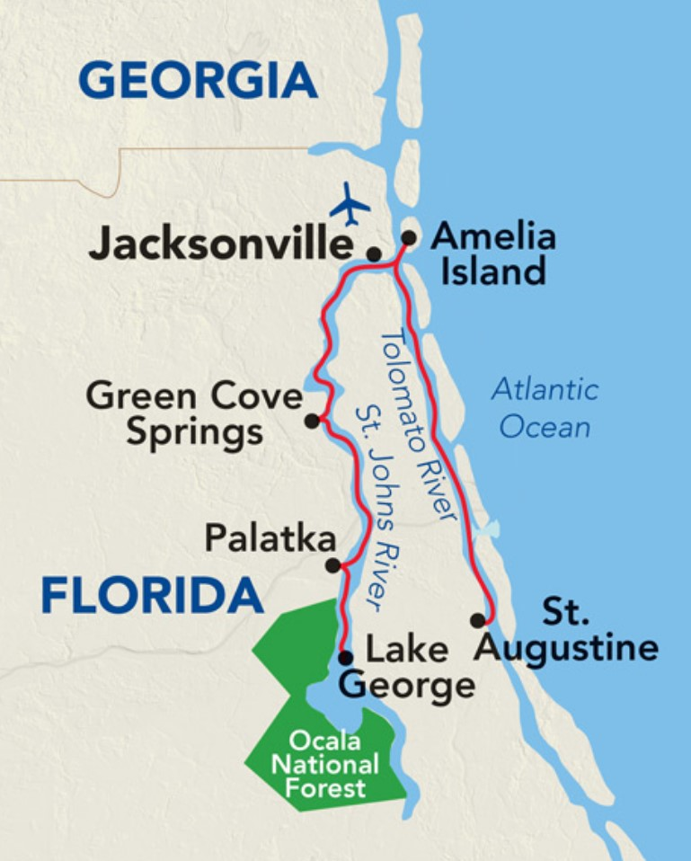 Florida Rivers Cruise - Great Rivers of Florida
