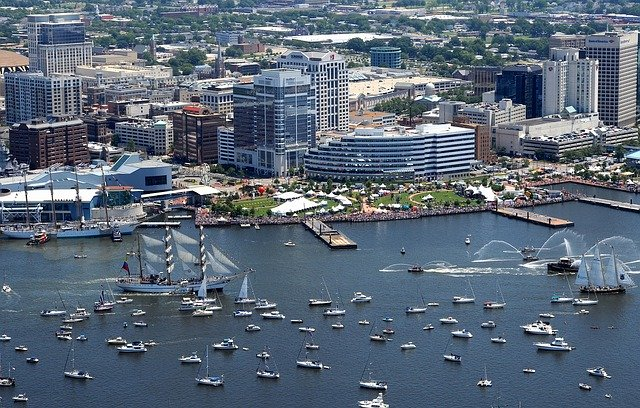 Charleston to Baltimore Intracoastal Cruise - Mid-Atlantic inland Passage